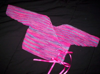 Bright Pink Baby Kimono