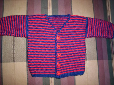 V-neck Baby Sweater