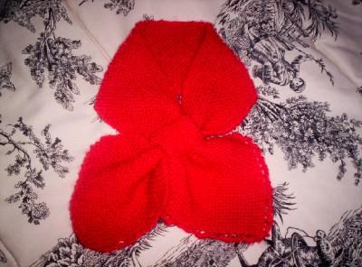 Red Bowtie Scarf