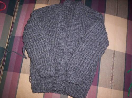 Gray Baby Sweater