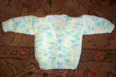 Preemie Sweater